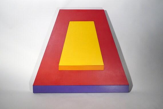 Jerry T. Okimoto (1924-1998) Geometric Painting ca.1970
