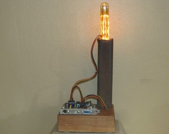 Steampunk Mod Lamp Number Seven