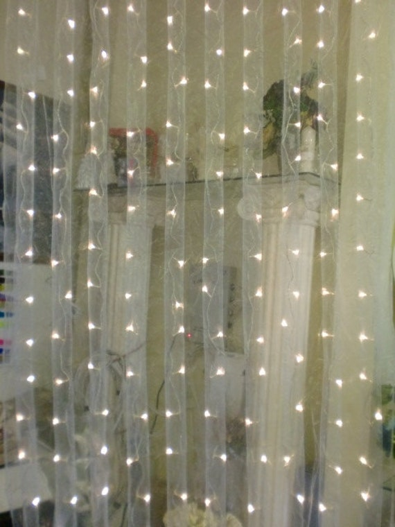 Items Similar To Tanday Organza Led Curtain Lights 12018 On Etsy