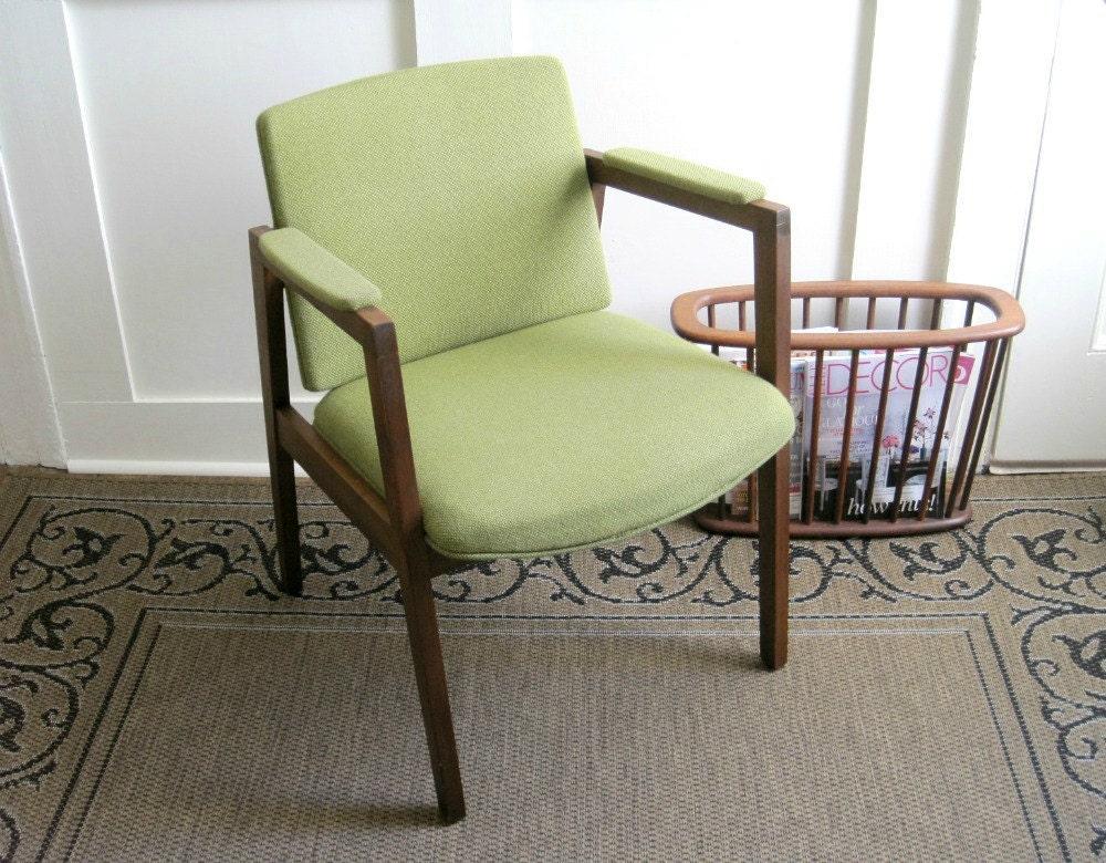 Mid Century Modern Arm Chair Danish Modern By GoldenDaysAntiques