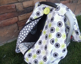 Carseat Canopy Boy or Girl carseat cover / car seat canopy / car seat cover / car seat tent / nursing cover / infant car seat / car seat
