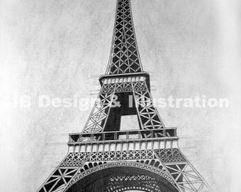 Eiffel Tower (print)