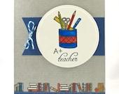 A Plus Teacher Card