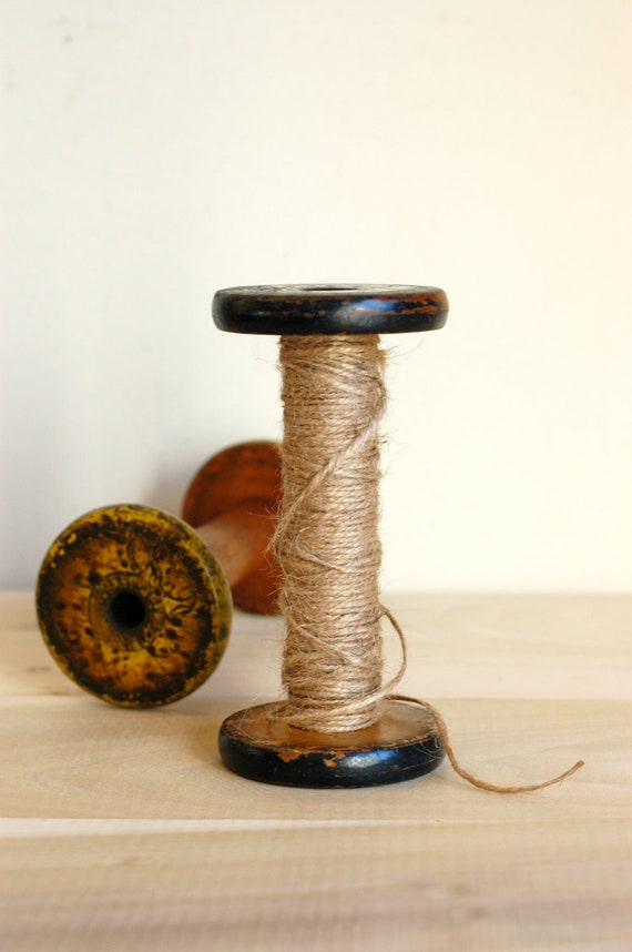 Wooden Textile Spool Collection