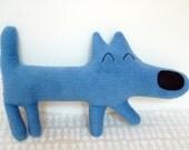 RUFUS the loyal blue dog