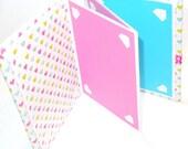 Photo Album Book Scrapbook Bright Colors Hearts