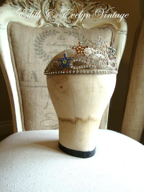 Vintage Mannequin Head Canvas Hat Form