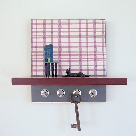 Small Key Wall Decor : Items similar to wall decor plum small decorative