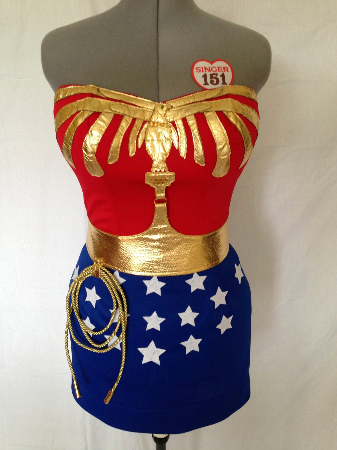 American girl wonder woman outfit-7275