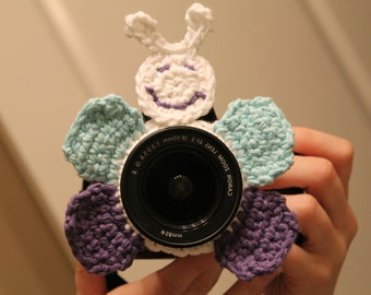 INSTANT DOWNLOAD Butterfly Camera Buddy PATTERN