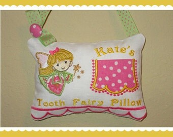 Girl Tooth Fairy Pillow -Fairlee