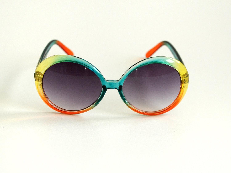 70s rainbow sunglasses