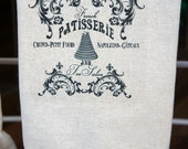 French Patisserie Tea Towel