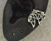 Ear Cuff Butterfly Wing -  SINGLE SIDE - Sterling Silver