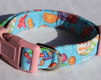 Penny Candy Dog Collar Size XS, S, M or L