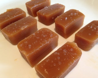 Salted Caramel, homemade caramel, gourmet caramel, all natural caramel