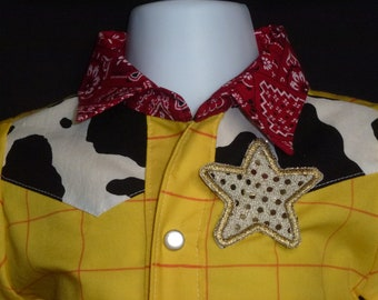 Woody inspired shirt   size NB - 5T.