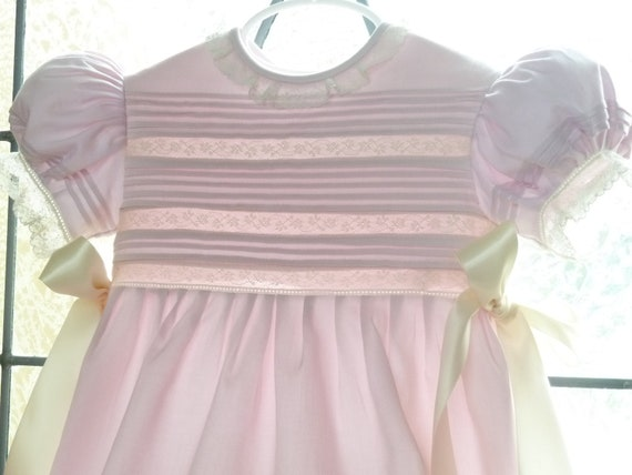 Reserved Listing:  Handmade Baby Girl Heirloom Bubble