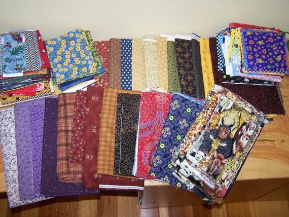 Destash Huge Bundle of Quilt Shop Quality Fabrics