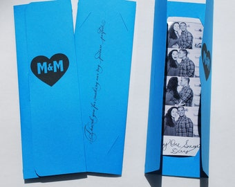 Photobooth Photo-Strip Picture Holders Wedding Party Favor
