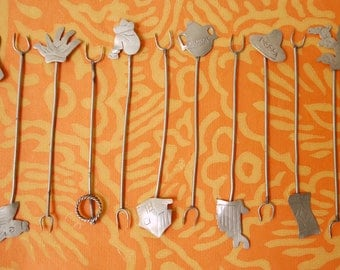 12 Vintage Mexican Origin and Theme Canape Picks Really Cute Free Shipping
