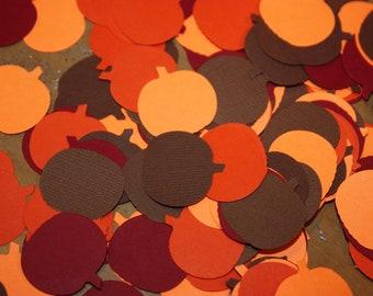 200 Pumpkin Confetti / Die Cut / Cutout