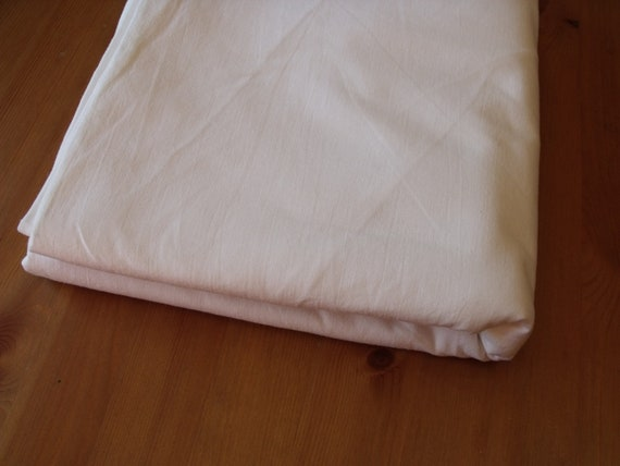 SALE  Vintage  one full flat sheet ,no tag,  ,snow white,81Wx88L.Excellent vintage condition: no holes, no repairs, no stains.