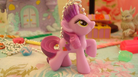 My Little Pony Berryshine Assembled Kawaii Necklace or cell phone charm you choose