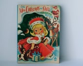 Vintage Christmas Coloring Book / Merrill Company Publishing