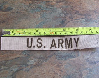Old Military U S Army Patch