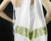 Elephant Sling Crossbody Bag Purse Messenger Hippie Hobo Messenger in White / 3 More Colors Available