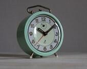 Cute Vintage French Jaz  Alarm Clock  Loft Decor