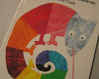 1984 The Mixed Up Chameleon By Eric Carle