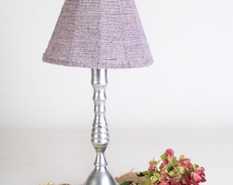 Popular items for purple lamp shade on etsy for Purple beaded lamp shade