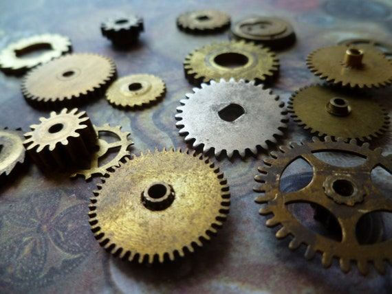 Vintage Collection of Gears