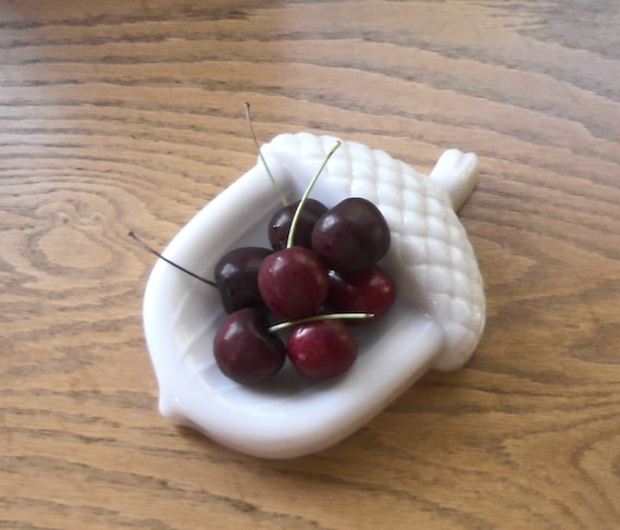 Milk Glass Acorn Imperial Glass Fall Home Decor