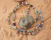 Beautiful Ammolite Pendant Necklace