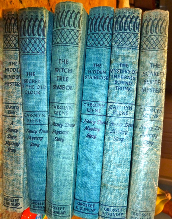 Nancy Drew Book Collection Blue Book Collection Instant