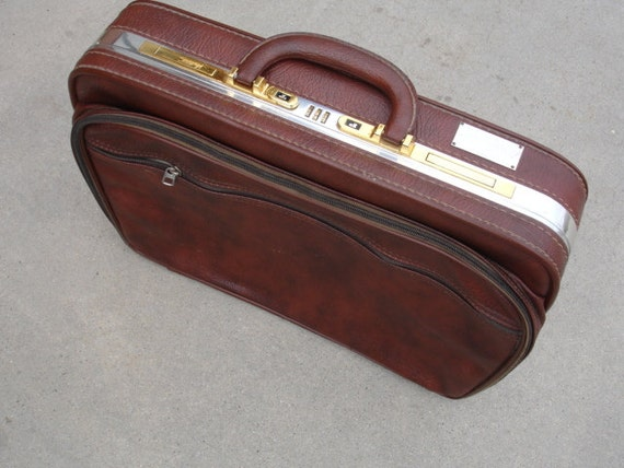 Very Cool Vintage  Briefcase- Check out all of our Vintage Cases