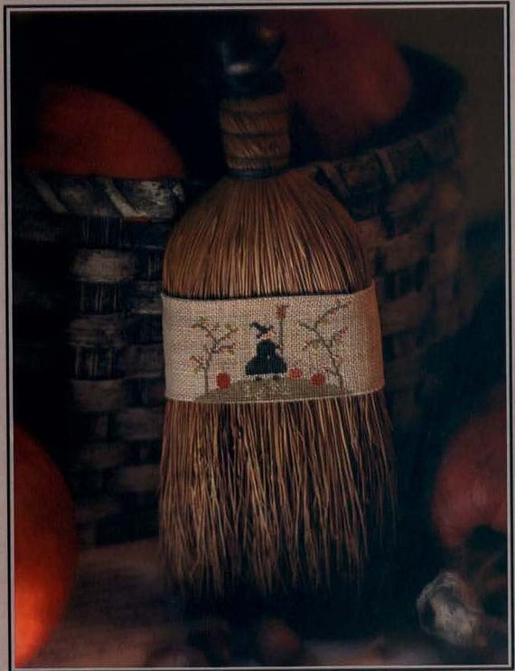 Broom Hilda - cross stitch pattern by With Thy Needle & Thread