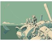 Whirlygig  Print: Stranded