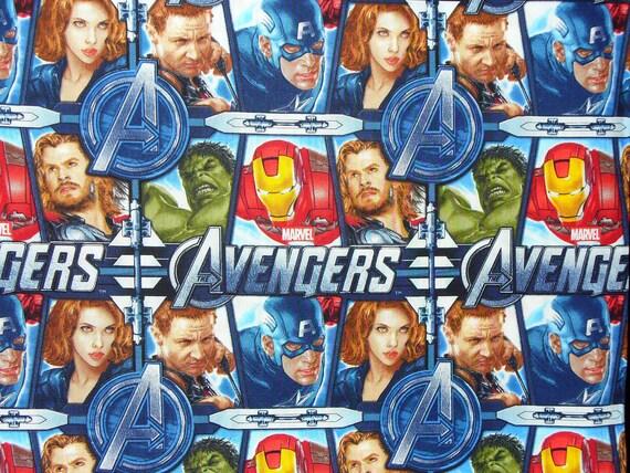 Avengers Fabric  / Marvel / BTY