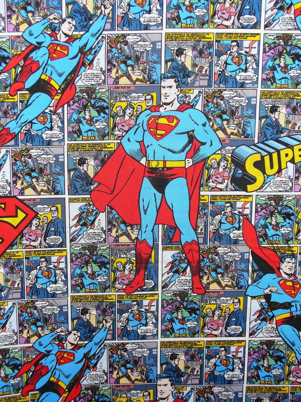 Superman comic book strips