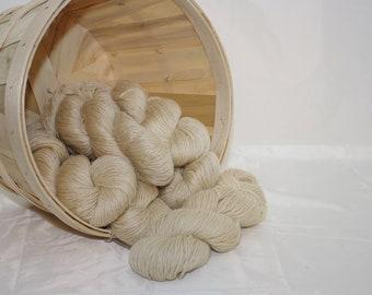 Rare Treat 100% Leicester Longwool Yarn from a PA Century Farm