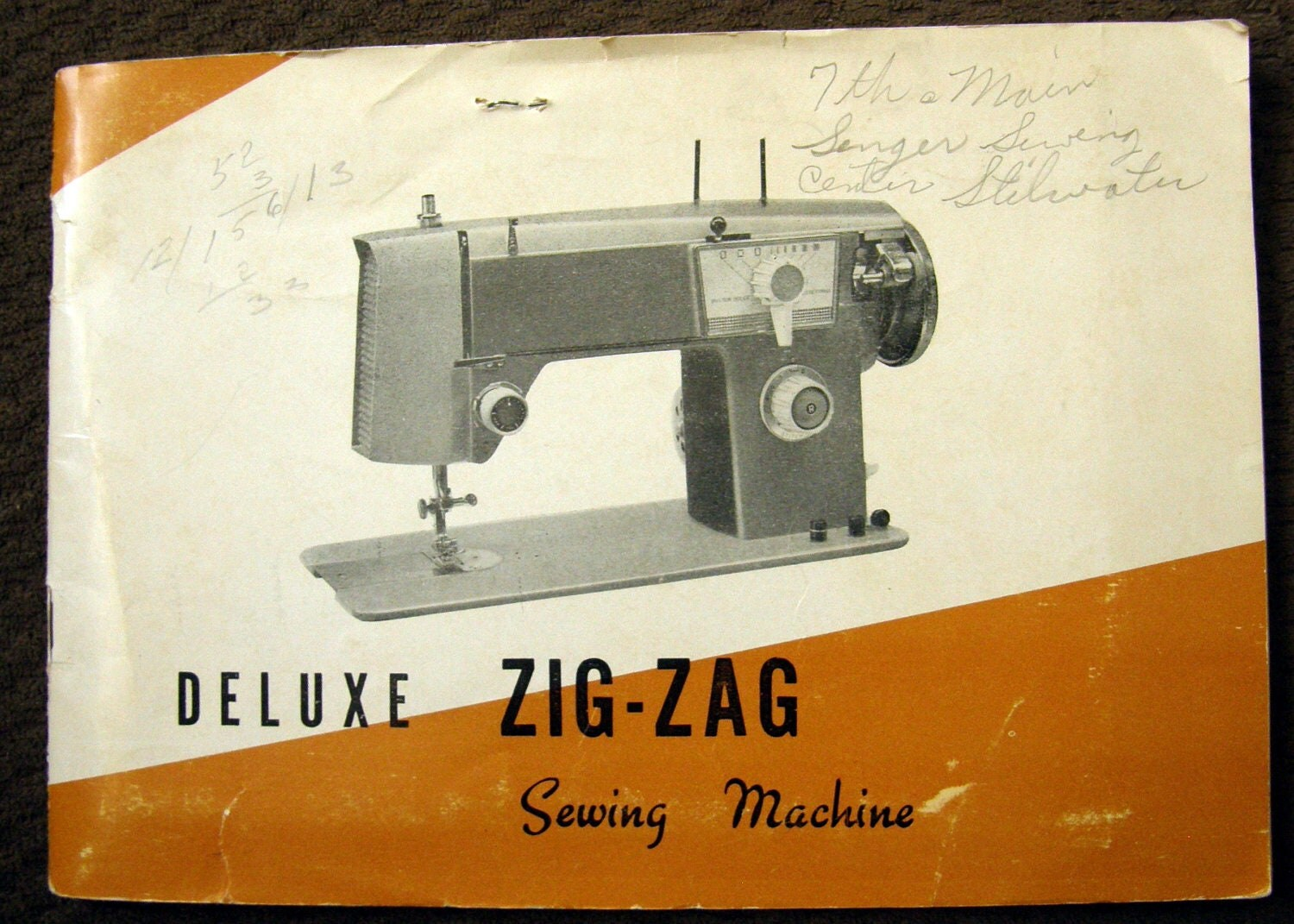 deluxe zig zag sewing machine