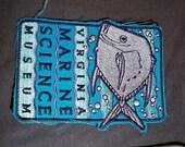 1980s Virginia Marine Science Museum Patch