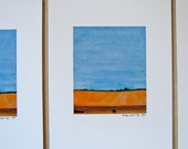 Amber Field : 11x8.5 limited edition landscape print