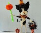 Halloween Kitten  OOAK - Pookie