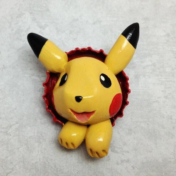 Pokemon Pikachu Button -SALE-