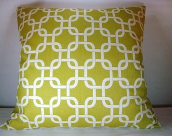 Accent Decorative Pillow Cover Citrine 20x20 Pillow Cover